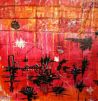 City By The Water by Jose A Gonzalez