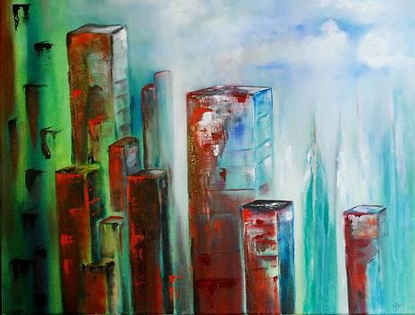 City by Larry Ney  II