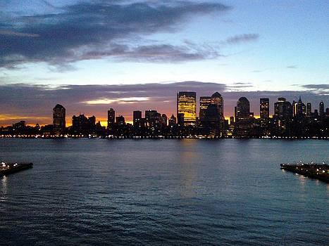 City Never Sleeps by Michael Degenhardt