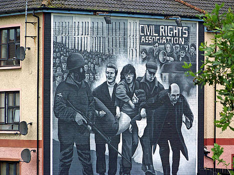 Civil Rights Mural Derry 6 by Maggie Cruser
