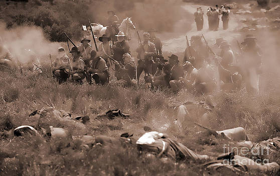 Civil War Battlefield by Alan Crosthwaite