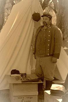Civil War Encampment 1 by Claire Pridgeon