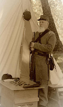 Civil War Encampment 2 by Claire Pridgeon