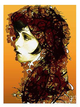 Clara Bow Reworked by Debbie Engel