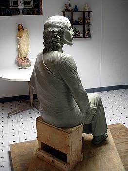 Clay Jesus by Patrick RANKIN