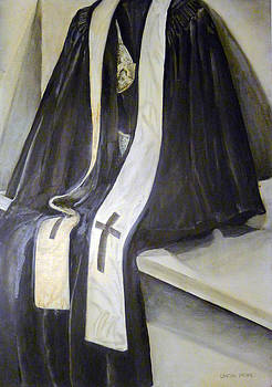 Clergy Attire by Linda Pope