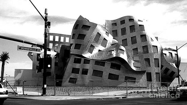 Cleveland Clinic in black and white by Kelly Christiansen