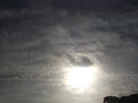 Cloud Eclipsing The Sun by Rani De Leeuw