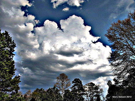 Clouds in HDR by Mary Siniard