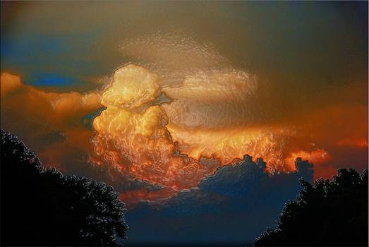 Clouds On Fire by Janet G T