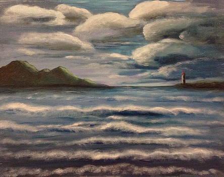 Cloudy Day by Bozena Zajaczkowska
