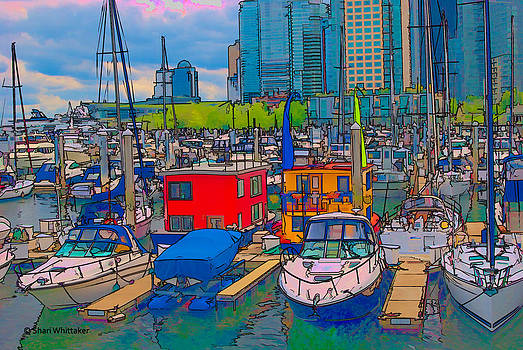 Coal Harbour Vancouver by Shari Whittaker