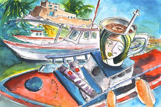 Miki De Goodaboom - Coffee Break in Sitia in Crete