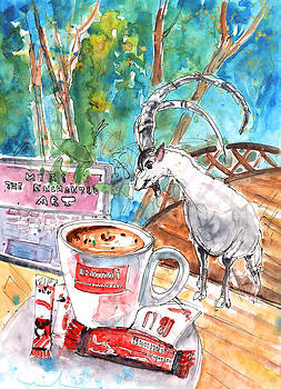 Miki De Goodaboom - Coffee Break in Vrisses in Crete