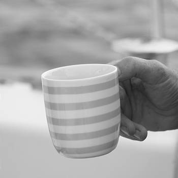 Coffee Cup by Jan Lowe