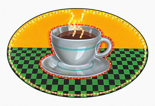 Coffee Cup by Ron Morecraft