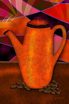 Coffee Pot by Melisa Meyers