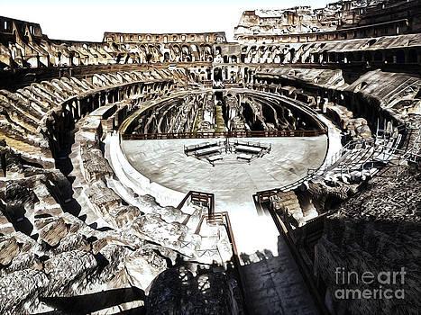 Gregory Dyer - Coliseum  - bleached version