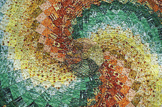 Color Swirl Quilt by Sherry Vance
