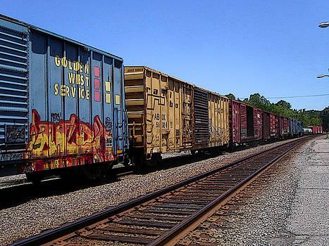 Anne Cameron Cutri - Color Train