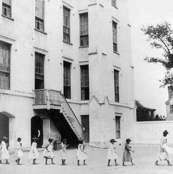 Colored School in South Caroline - Segregation - c 1891 by International  Images