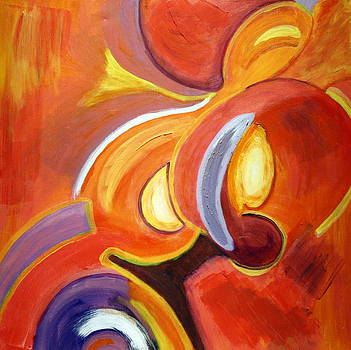 Karyn Robinson - Colorful Abstract Art - Around the Horn