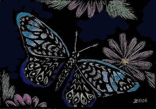 Colorful Butterfly by Jennifer Jeffris
