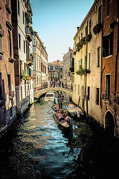 Colorful Canal by Jen Morrison