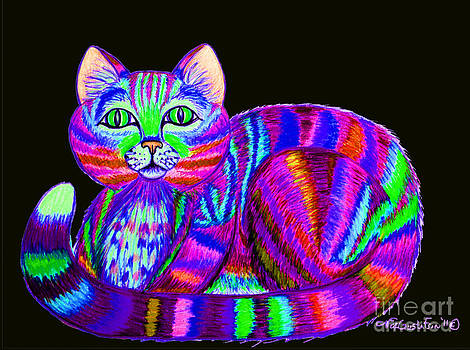 Nick Gustafson - Colorful Cat 3