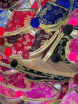 Colorful Shoes by Sandy Collier