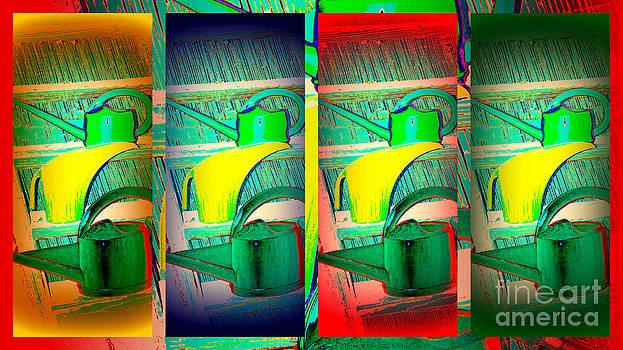 Susanne Van Hulst - Colorful Water Cans