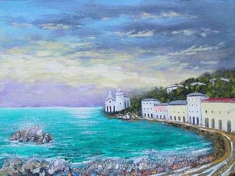 Colors Of The Riviera 2 by Larry Cirigliano