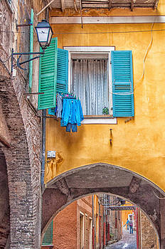 Colourful Villefranche by Shari Whittaker