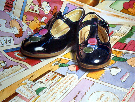 Comic Shoes by Phil Hopkins