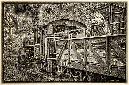 Coming in to the station by Boyd Alexander