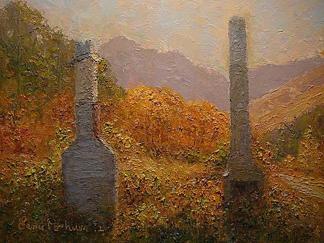 Terry Perham - Concrete Tombstones