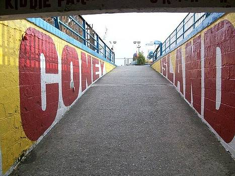 Coney Island Entrance by Paul Tripodis