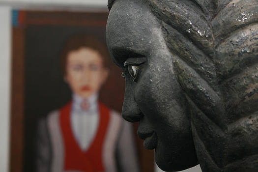 Madalena Lobao-Tello - Confrontation of two artworks