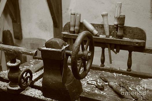 Gaspar Avila - Cooperage tools