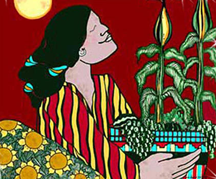 Corn Girl by Dede Shamel Davalos