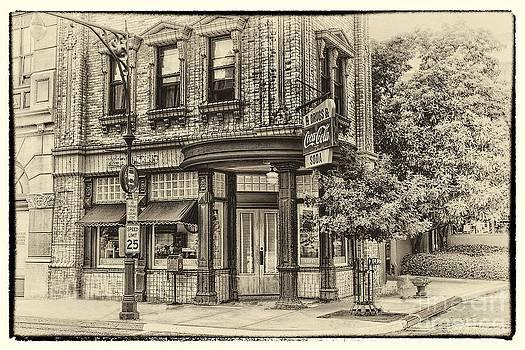 Corner Drug Store by Arnie Goldstein
