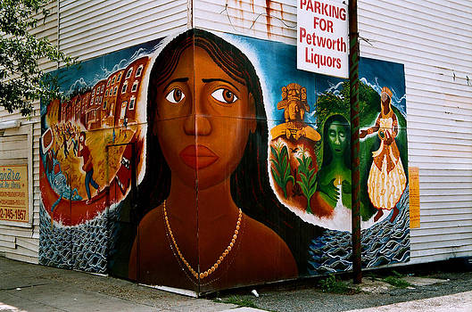 Corner Graffiti by Claude Taylor