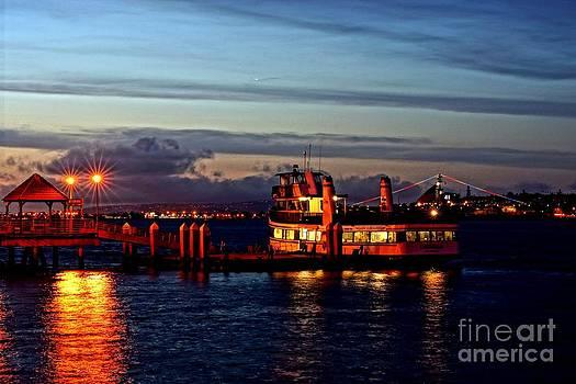 Coronado Ferry by Wendy Emel