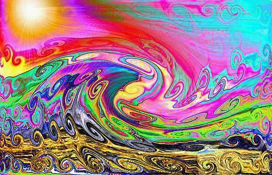 Cosmic Waves by Gra Howard