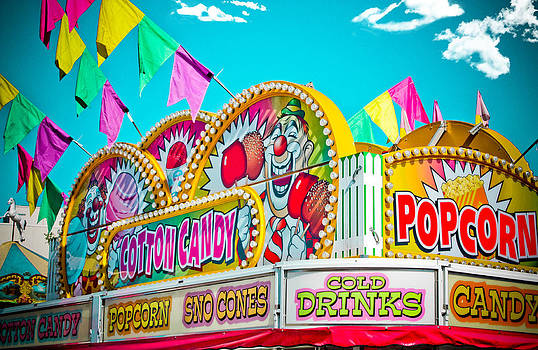 Cotton Candy Carnival Food Vendor BOLD COLOR by Eye Shutter To Think