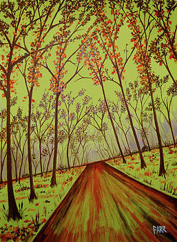 Country Road Forest by Steve Farr