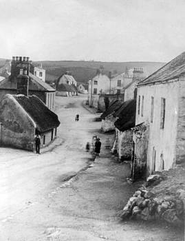 Country Village - Ireland - c 1887 by International  Images