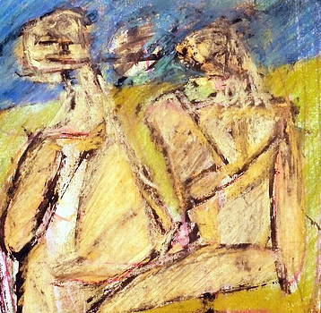 Couple In The Park by JC Armbruster