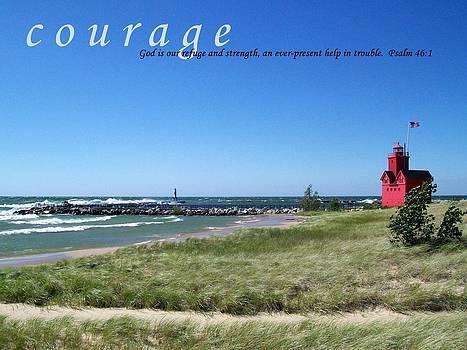 Michelle Calkins - Courage
