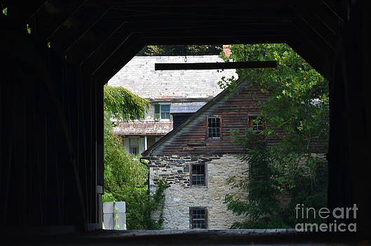 Randy J Heath - Covered Bridge and Home